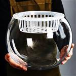 玻璃瓶桌面装饰鱼缸瓶绿萝瓶水培玻璃花瓶