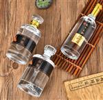 定制500ML玻璃瓶 彩色玻璃瓶