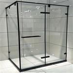 厂家直销简易淋浴房 批发平开干湿分离卫生间