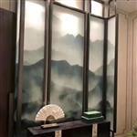 夹丝玻璃 夹胶玻璃 艺术玻璃 长虹压花隔断 酒店装修厂家直销