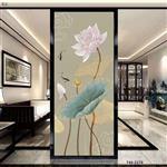 厂家供应银丝艺术夹丝玻璃 工艺夹绢玻璃加工定制重庆