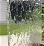 5厘超白钢化艺术玻璃 酒店别墅屏风隔断工程 重庆厂家专业定制