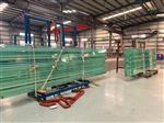 厂家供应6-22mm超长超宽幕墙,酒店和商场钢化玻璃