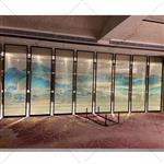 山水画玻璃生产厂家背景墙隔断玻璃
