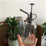 500毫升玻璃喷壶光面玻璃瓶透明洒水壶