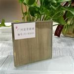 广州富景玻璃夹丝玻璃隔断夹绢玻璃背景墙艺术玻璃供应