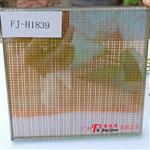 广州富景玻璃有限公司生产夹丝玻璃夹绢玻璃定制