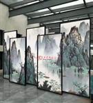 艺术玻璃山水画玻璃生产厂家