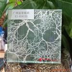 工艺玻璃山水画玻璃夹丝玻璃