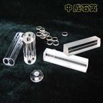 掺铈石英腔 三孔透明玻璃激光腔 掺杂石英腔 激光器配件 来图