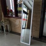 木纹穿衣镜烤漆拼镜全身镜子落地镜试衣镜时尚简约 厂家直销