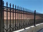 铁艺护栏 铁艺栏杆 围墙护栏