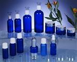 玻璃瓶蓝色精油瓶