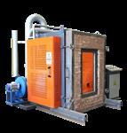 鼎安达防火玻璃检测炉