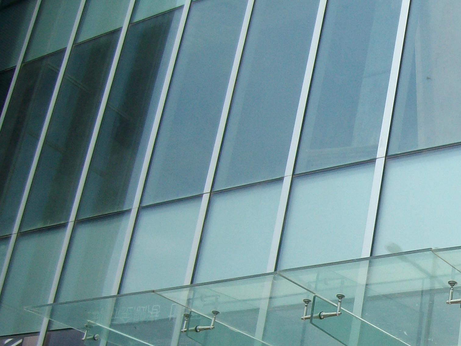 3小时铯钾防火玻璃 宁波钢结构玻璃雨篷