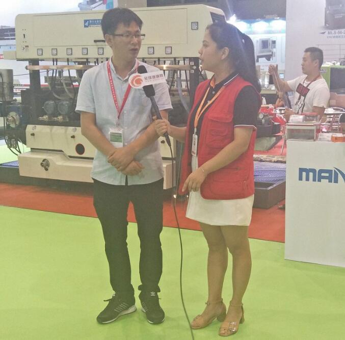 全球yzc88亚洲城官网网独家专访满菱yzc88亚洲城官网机械赵建利经理
