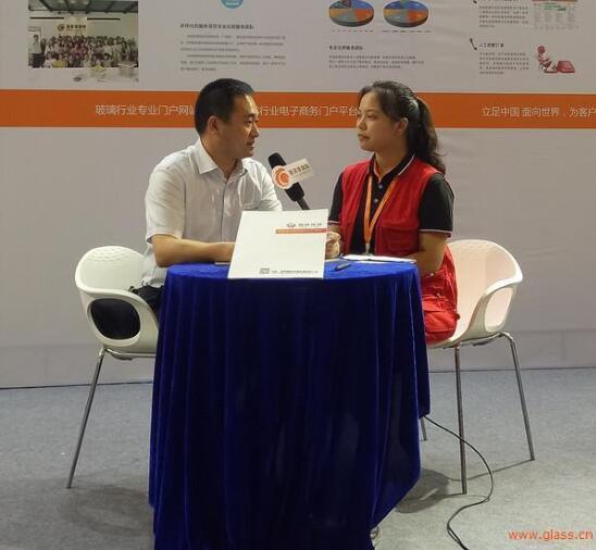 全球玻璃网独家采访蚌埠朝阳玻璃机械徐祁总监