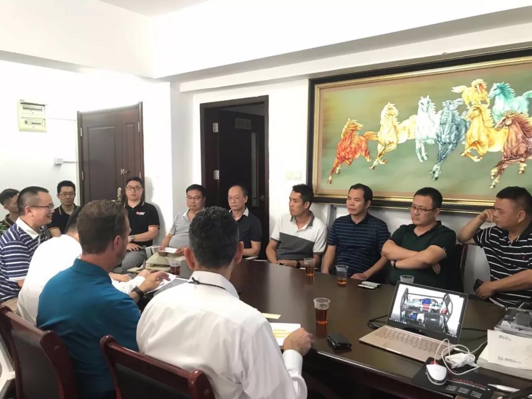 美国AHB副总裁一行到访广东玻璃行业协会