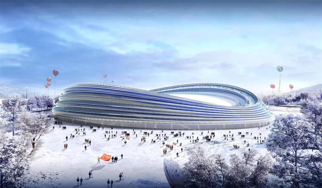 北玻圓滿完成冬奧會國家速滑館玻璃供應任務
