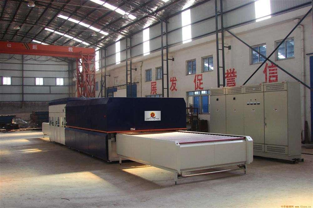 钢化炉钢化段的冷却装置与放片段特点简析