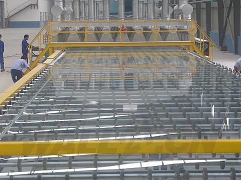 浮法玻璃生产中,出现澄清困难状况时的处理方法