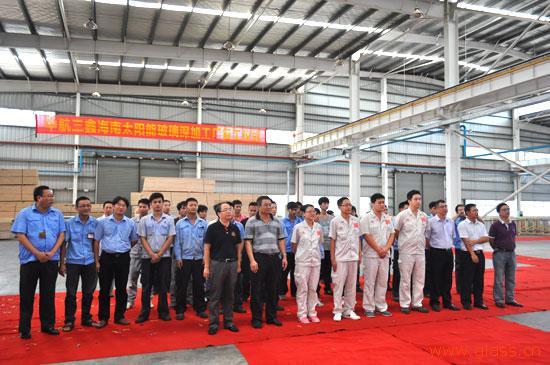 海南太阳能玻璃深加工厂开工
