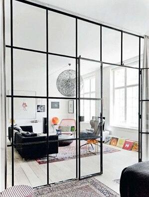 隔断电气通透箭头玻璃打造墙必不可少上意思的理想空间图纸图片