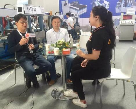 全球玻璃网记者独家专访蚌埠市-市长花絮