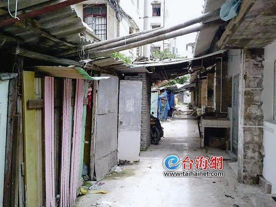 新华玻璃厂职工宿舍一夜之间因台风成危房 50多户退休职工何时能回家?