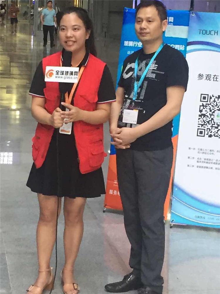 全球玻璃网独家采访第十届3D曲面玻璃展主办方CEO苏杰