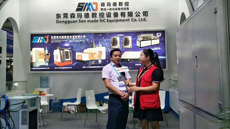 全球玻璃网独家采访森玛德数控设备公司副总经理黄国伟