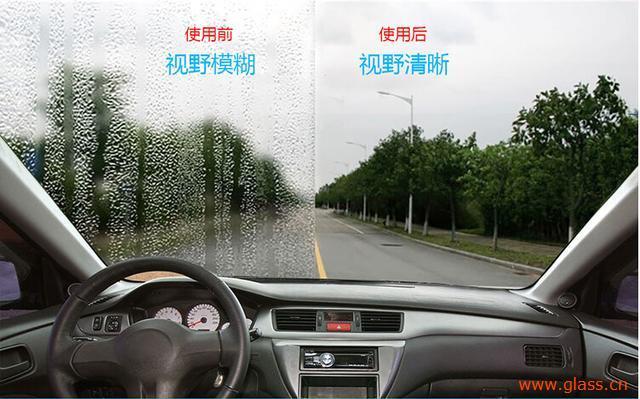 汽车挡风玻璃滑水镀膜有什么好处?