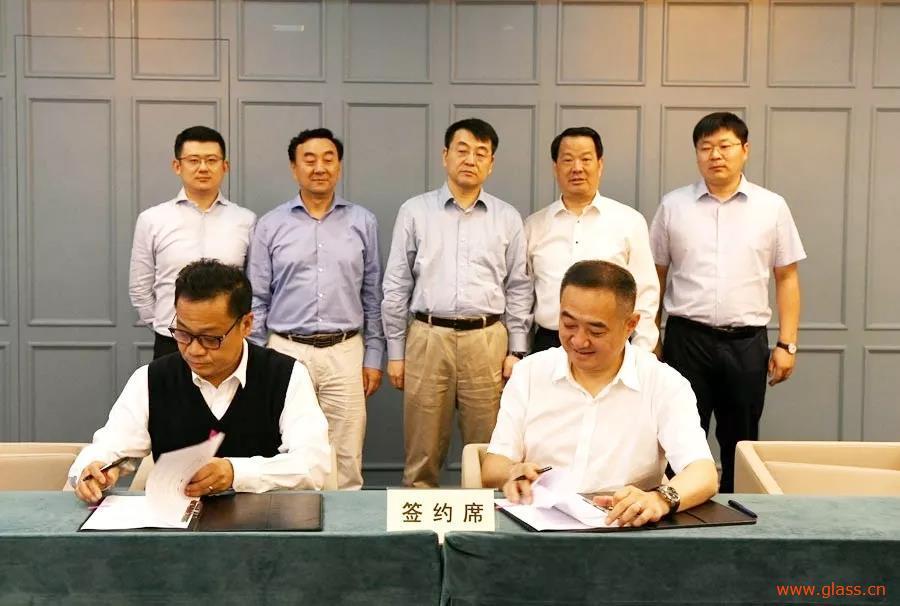 凯盛集团与光明食品签署战略合作协议