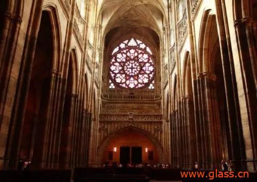教堂玻璃里的艺术玻璃,享受玻璃最美的状态