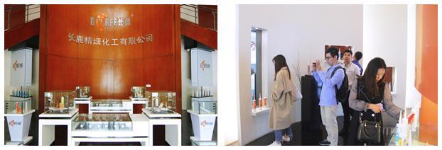 广东省玻璃行业协会会长及工程玻璃分会会长一行访广东长鹿精细化工有限公司