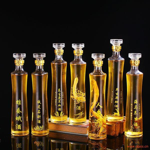 玻璃瓶厂家酒瓶喷涂方法