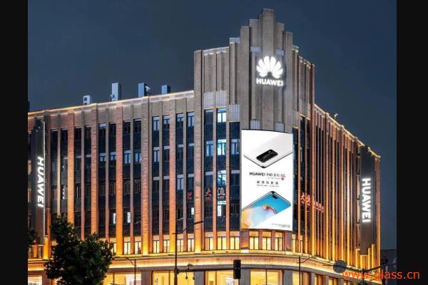 北玻古铜、水晶玻璃助力华为上海新城市客厅开业!