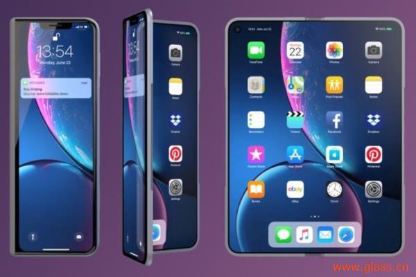 苹果手机或于明年推出可折叠屏iPhone