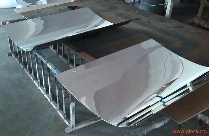 热弯弯钢球面曲面玻璃制镀镜厂家