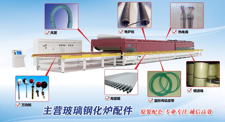 洛阳优诺钢化炉配件企业形象图片