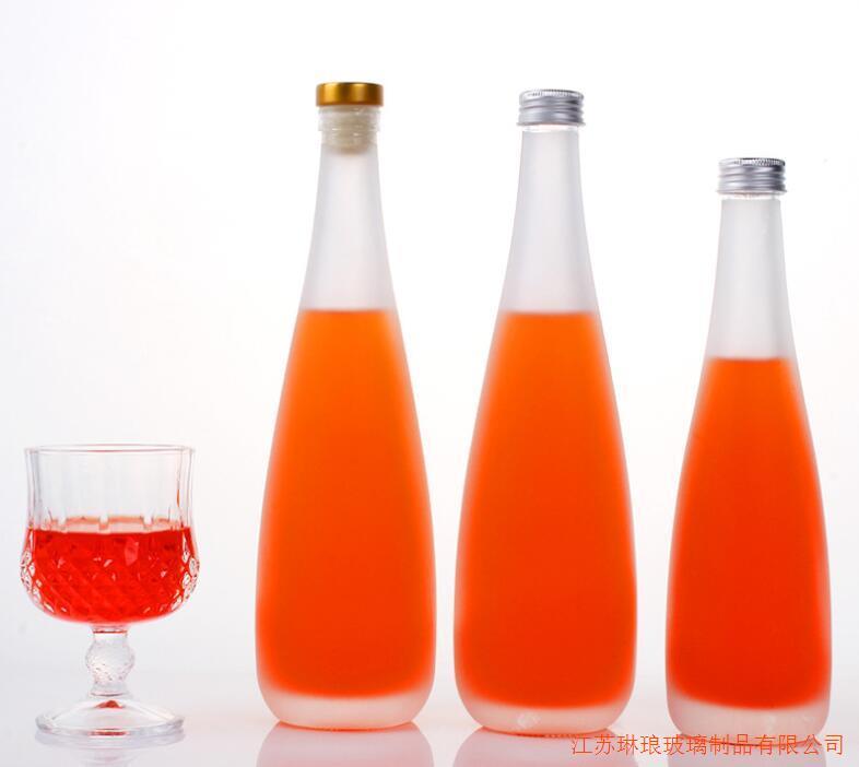 厂家直销1斤装果汁玻璃瓶玻璃饮料瓶