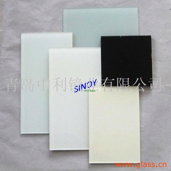 白色烤漆玻璃