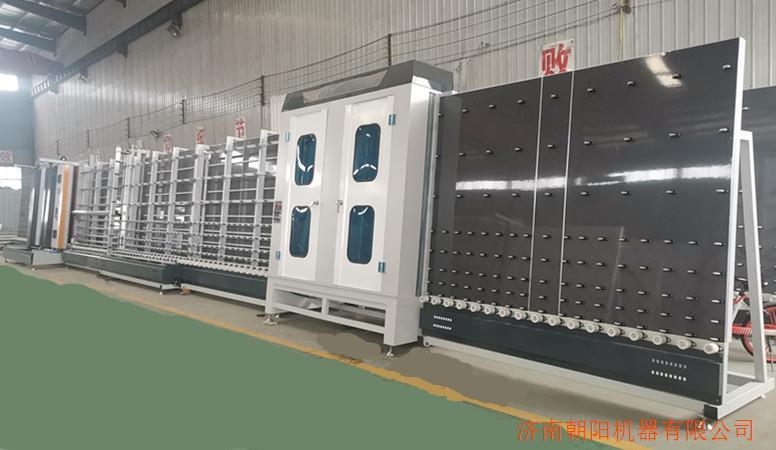 LBZ2500WP全自动中空玻璃外合片板压生产线