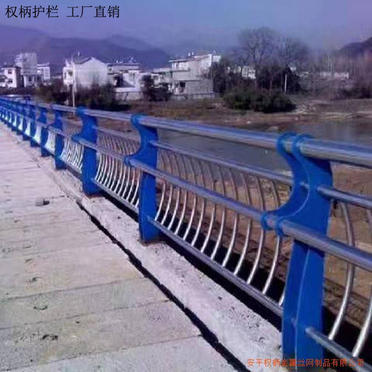 高速高架桥护栏 桥面护栏