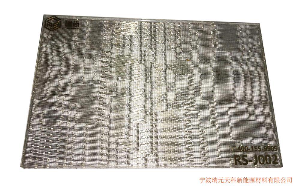 宁波艺术玻璃定制、金属夹丝玻璃。
