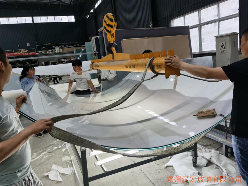 贵阳10+12A+10双银LOWE超白中空钢化弧形玻璃价格