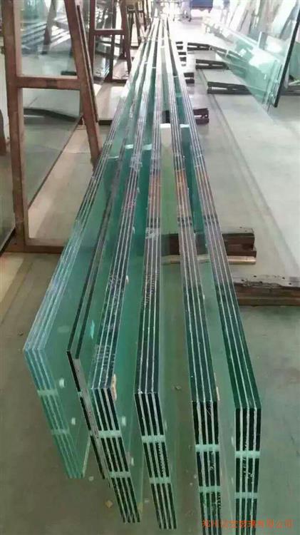 售楼部12mmlow-e+15A+12mm超白钢化玻璃