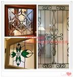 镶嵌玻璃/铁艺玻璃优质供应商