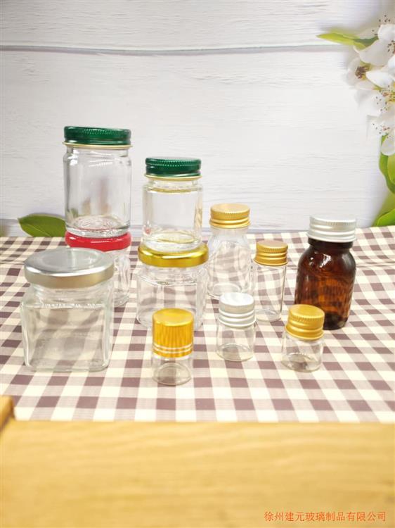 青草薬膏瓶六角玻璃青草膏空瓶清凉蛇油虎膏瓶驱蚊活络油膏玻璃瓶