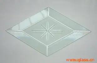 雕刻玻璃  门窗装饰玻璃  刻花玻璃